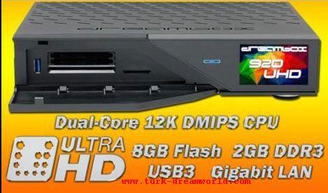 Dreambox DM920 UHD 4K yakinda piyasada