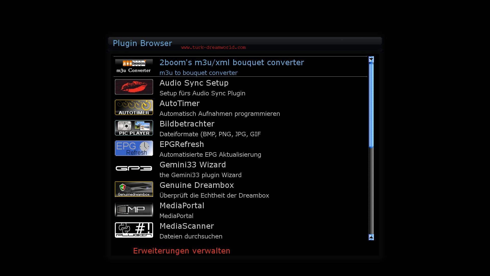 Enigma2 Plugin m3u Converter